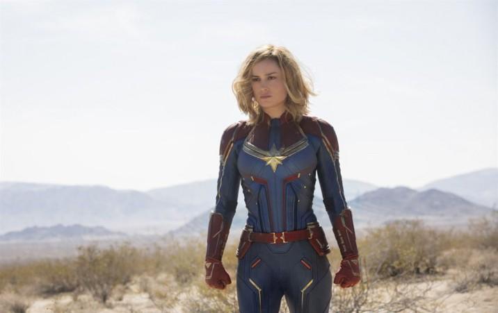 Brie Larson assinou contrato para atuar em sete filmes da Marvel